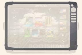 Lowrance HDS 12 Gen3 Blendrahmen und Kartenschacht-Abdeckung
