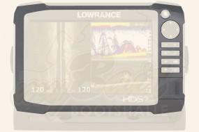 Lowrance HDS 7 Gen3 Blendrahmen und Kartenschacht-Abdeckung