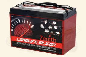 Zenith Deep-Cycle Bootsbatterie 12V 105Ah Longlife Silicon